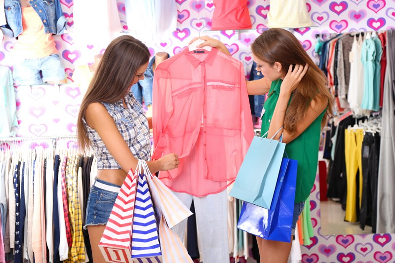 Du shopping avec ma meilleure amie
