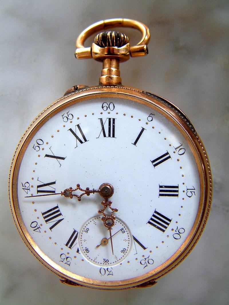 Mon grand père m'a offert sa vieille montre