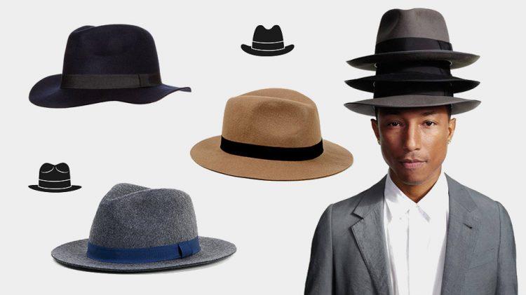 chapeau homme mode
