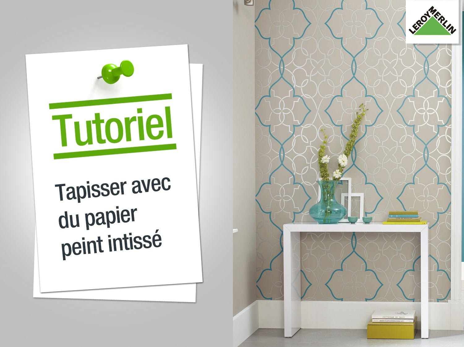 Comment coller papier peint ?